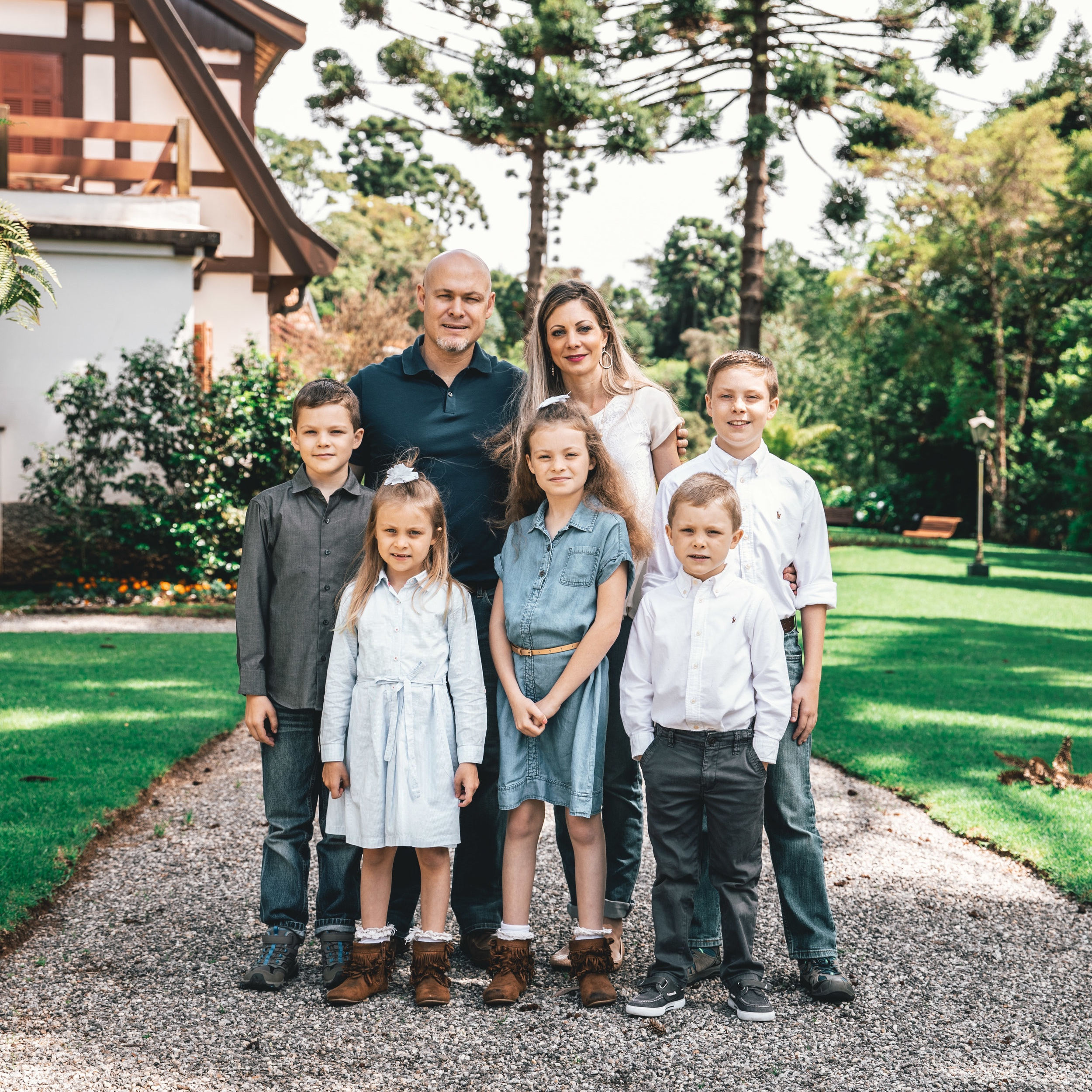 Jonathan and Erin - Samuel, Jesse, Abigail, Hannah, and Benjamin