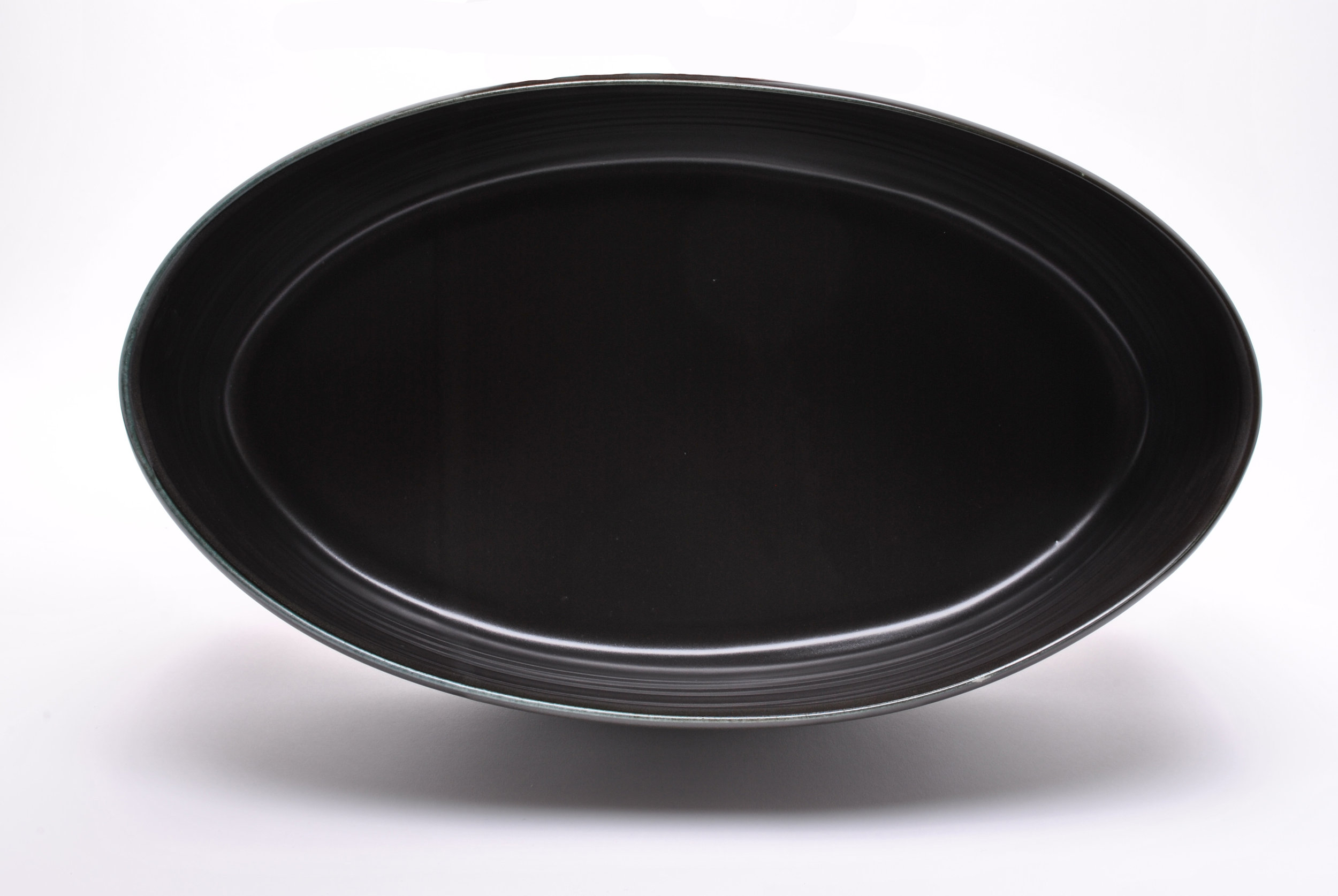 Large Black Oval (Interior View)
