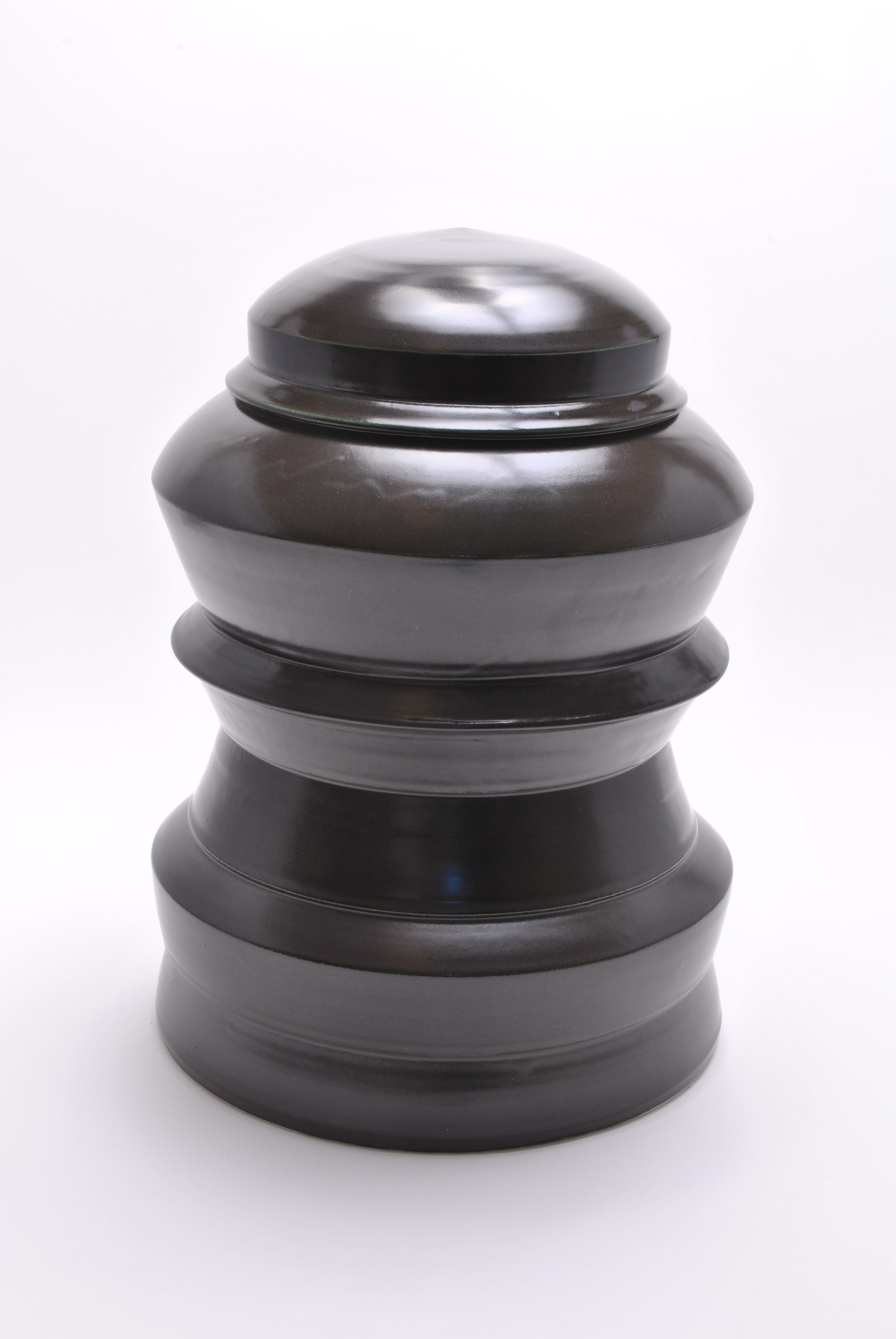 Tiered Jar with Lid