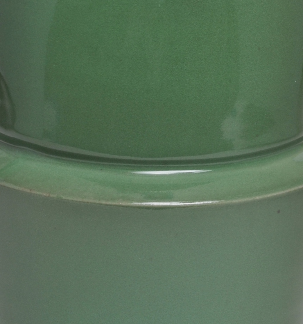Green Glaze - Detail