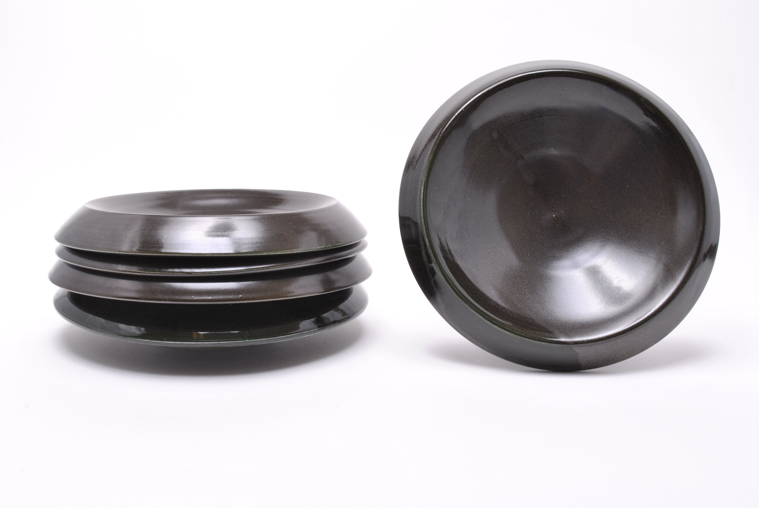 DOWN RIM BOWL  - Black