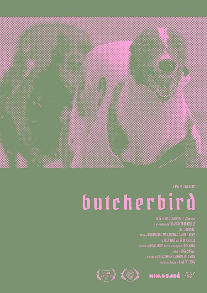 Butcherbird - Starring Maia Thomas, John Harding, with Gary Waddell & Daniel P JonesProduced by Sugaray Productions & Iggy FilmsDrama ShortRecently released from jail, John grows fond of a drug addicted sex worker, Trudy. When he tries to 'save' her, he goes too far and risks everything.Screenings:11th July 2015, Synchronicity Theatre, Atl, Georgia, US20th September 2015, Dendy Theatre Newtown, Sydney, AustraliaAwards:Gold Award, Spotlight Short Film FestivalOfficial Selection, Atlanta Shortsfest