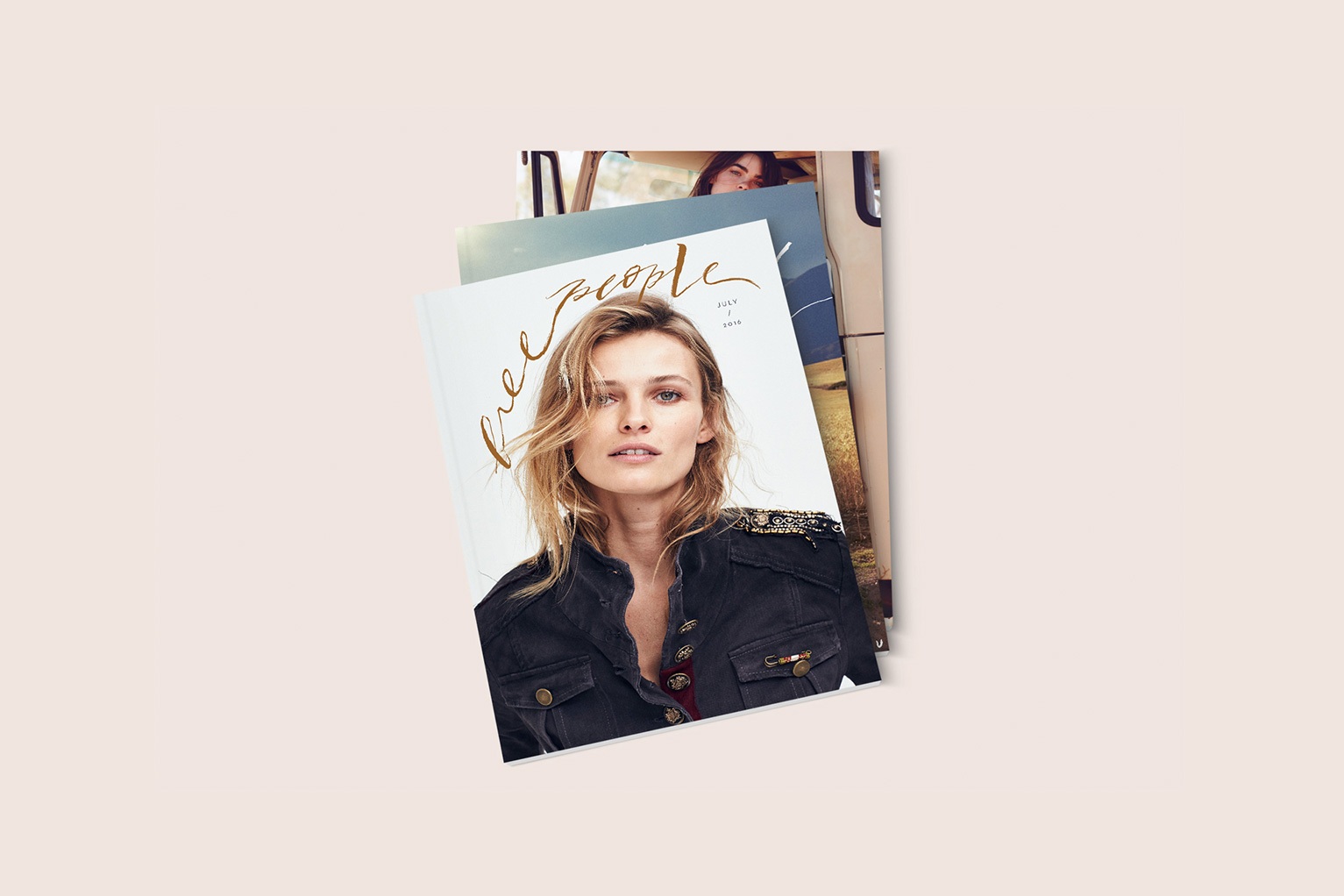 Free People  Catalog Cover Designs