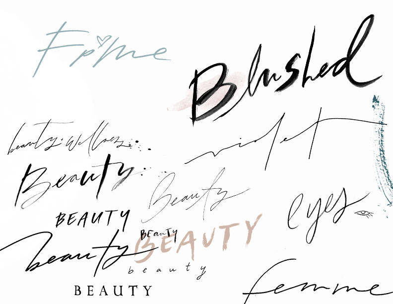 Hand-Lettering Styles