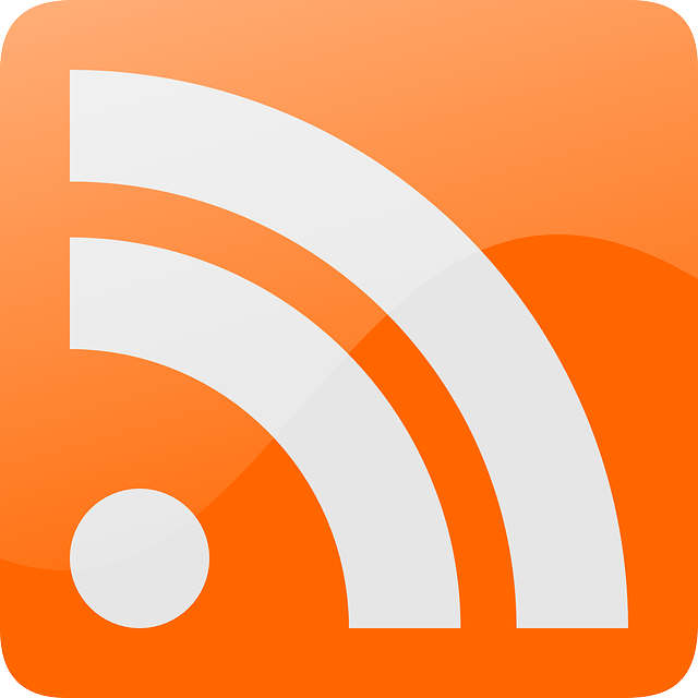 This is the standard rss subscription icon