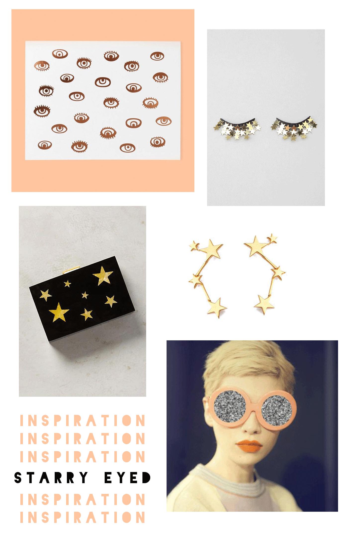 Starry Eyed Inspiration -- pattern by Miss Prints | miss-prints.com