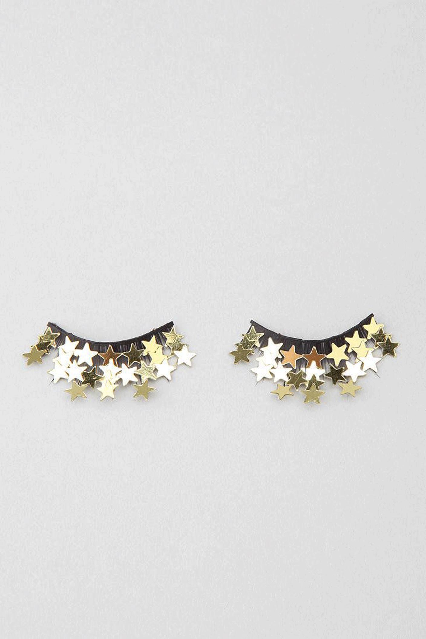 star eyelashes | @themissprints