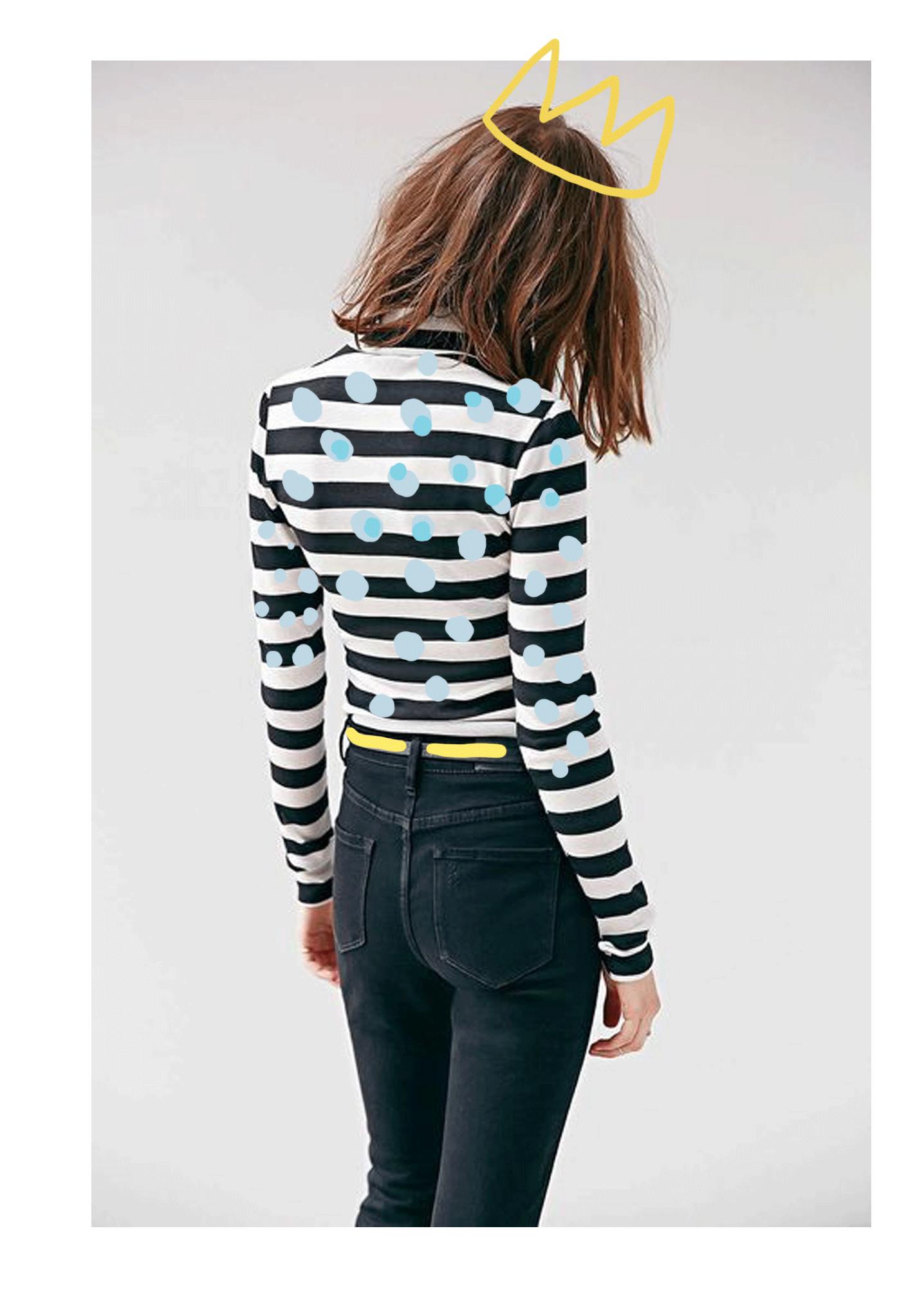 stripes and polka dots | @themissprints