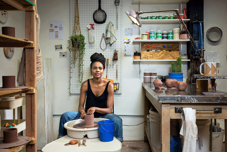 miss prints muse: ceramic artist tactile matter