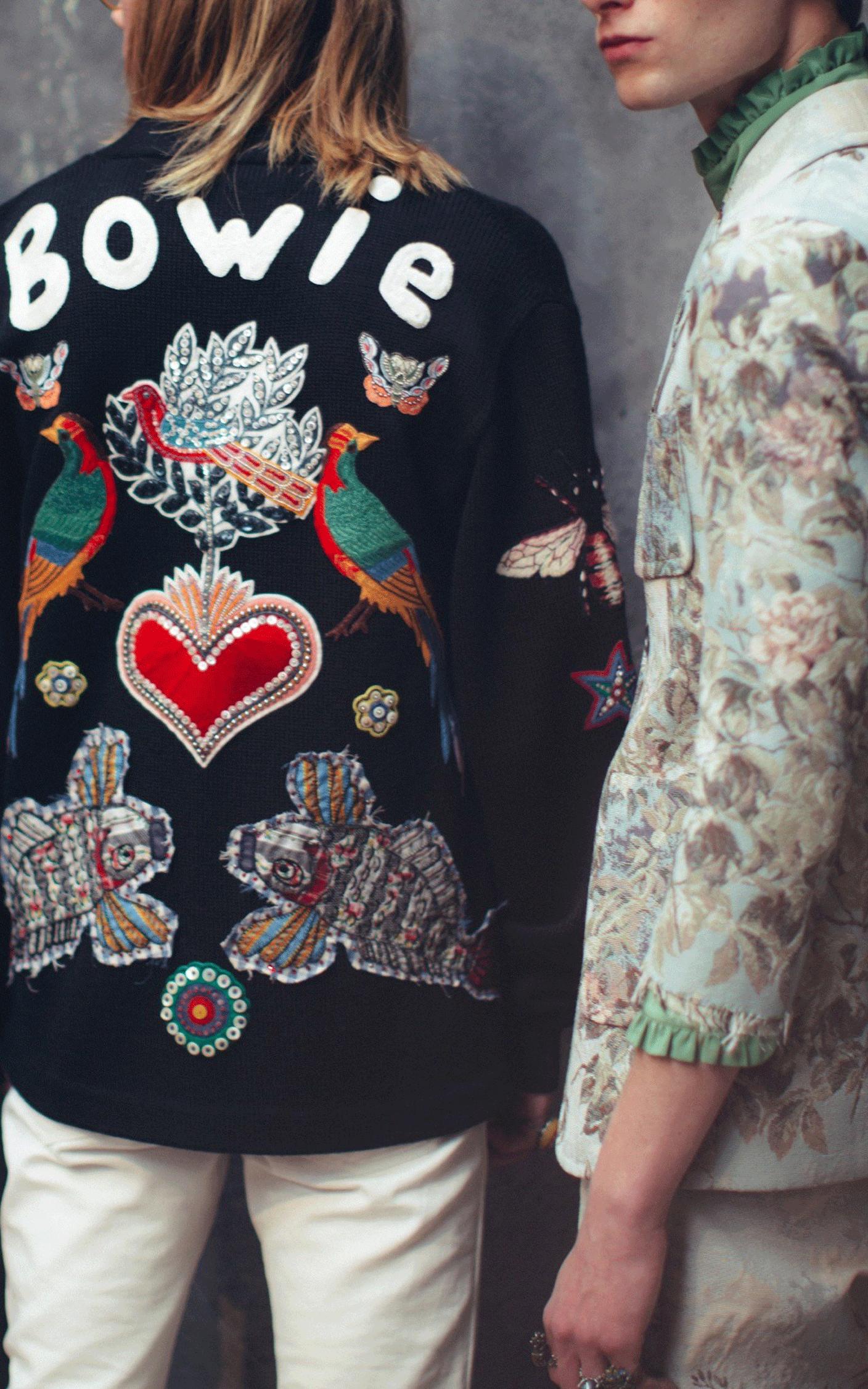 gucci bowie jacket | @themissprints