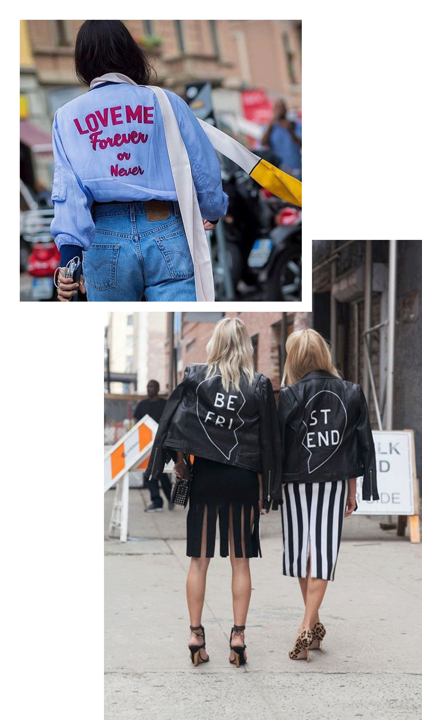 jackets with words | @themissprints