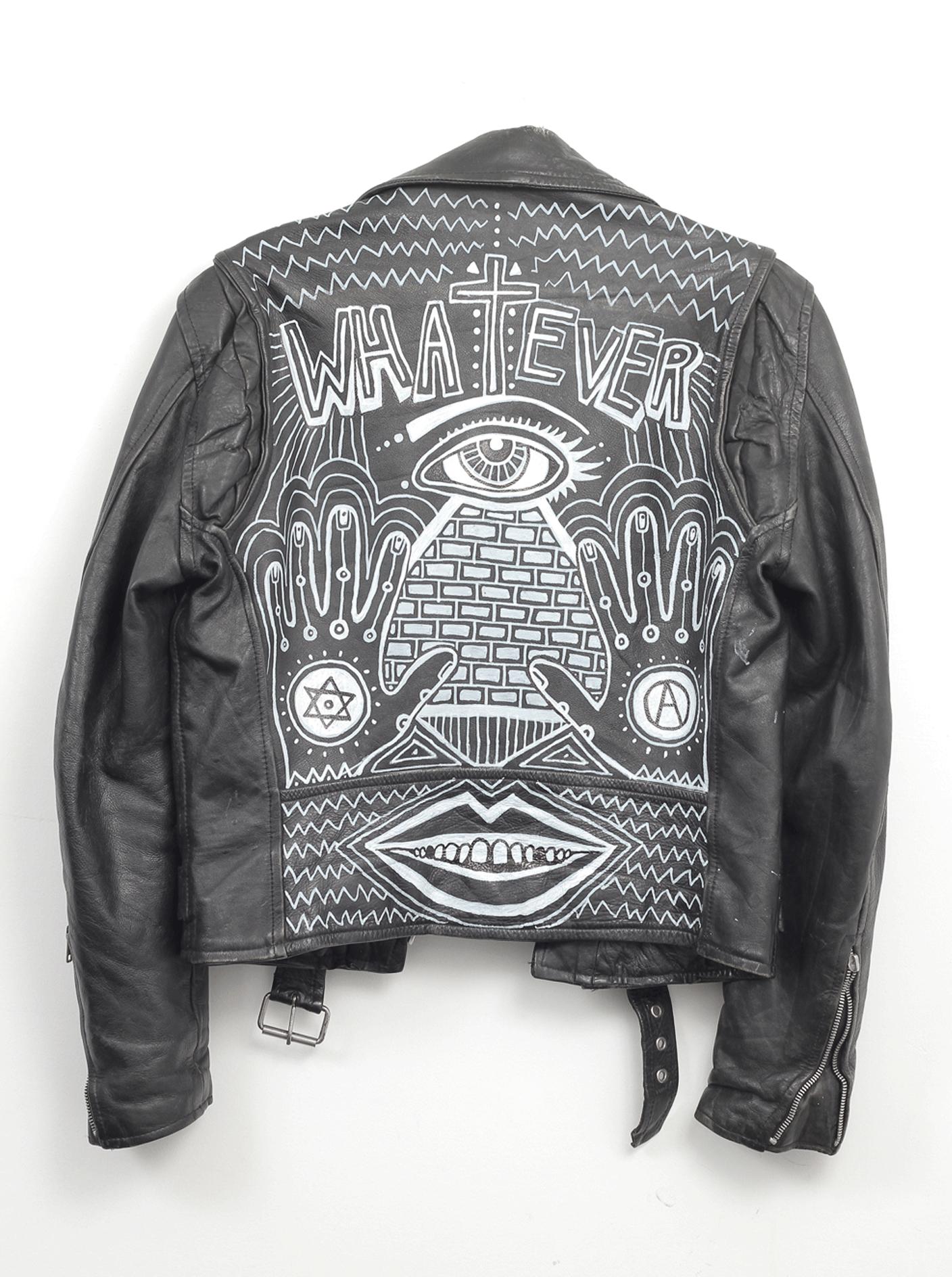 whatever biker jacket | @themissprints