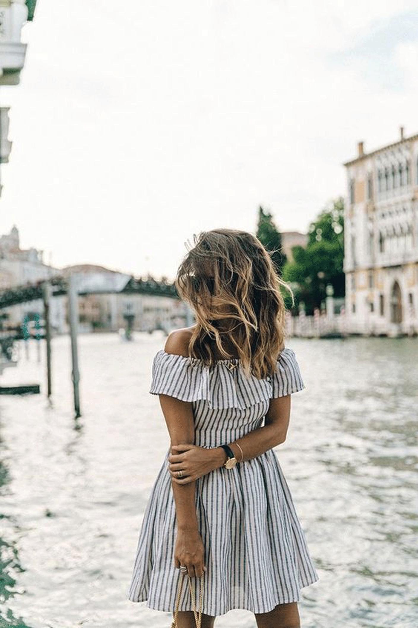 one week of summer stripes | @themissprints