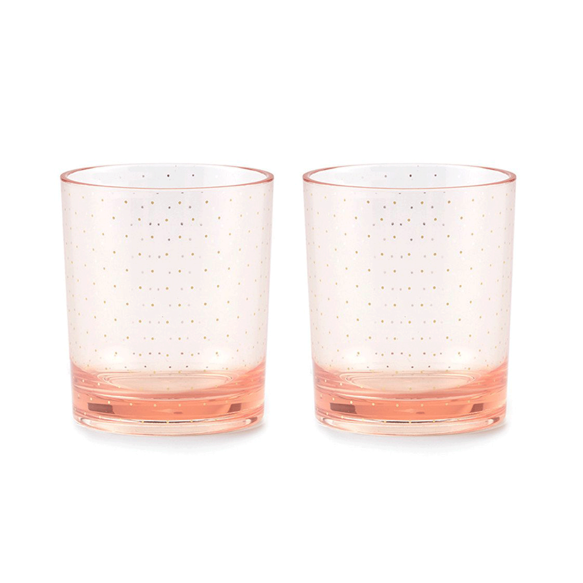 BLUSH DOT GLASSWARE*