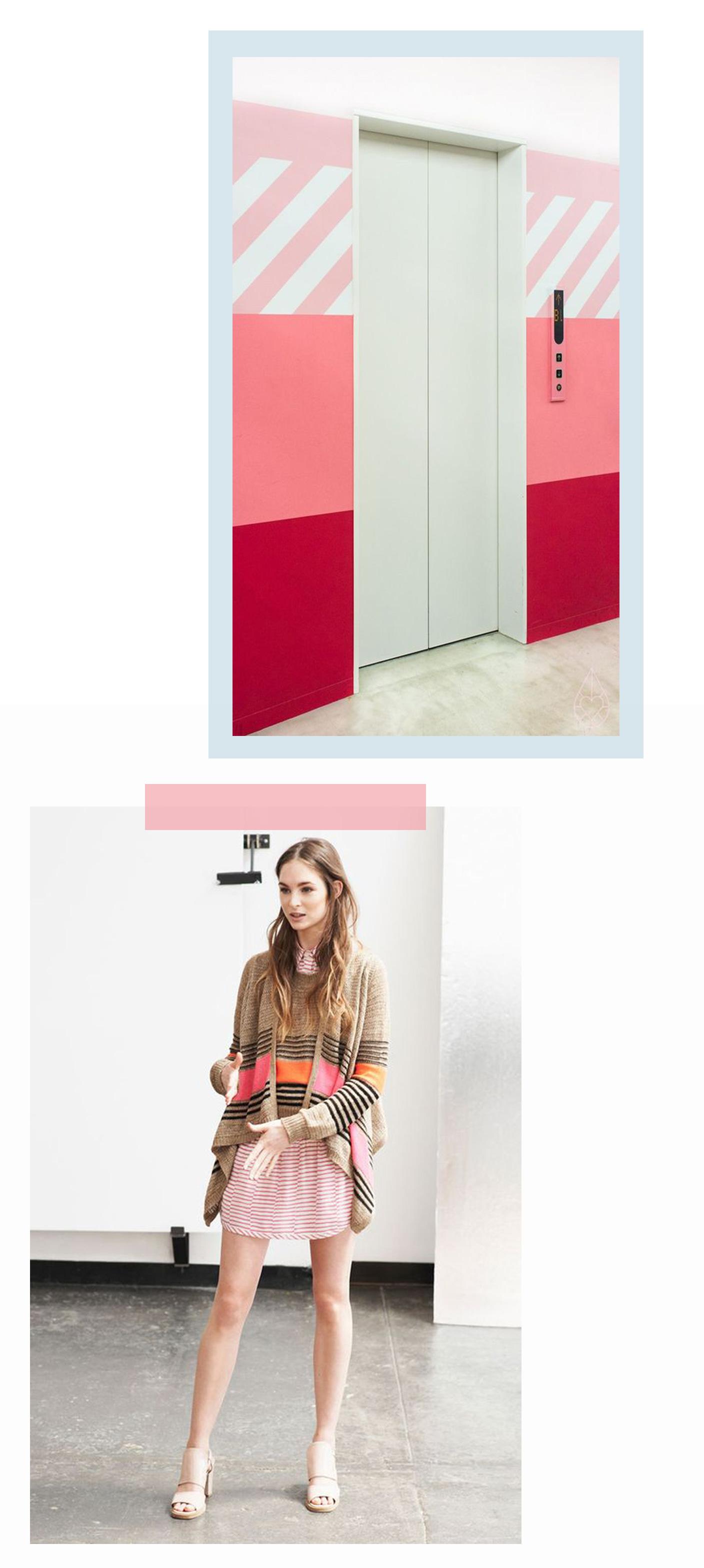 pastel stripes | @themissprints