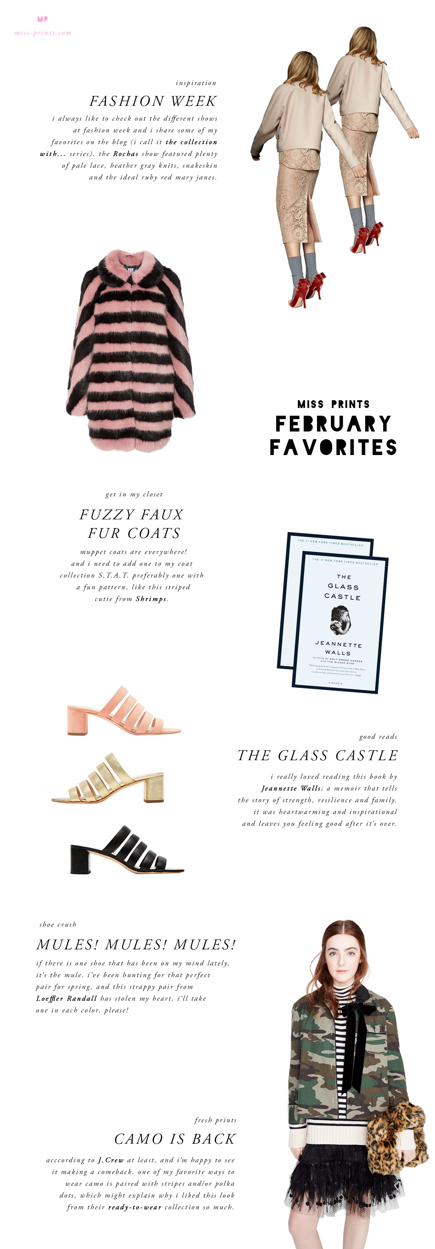 february favorites from @themissprints
