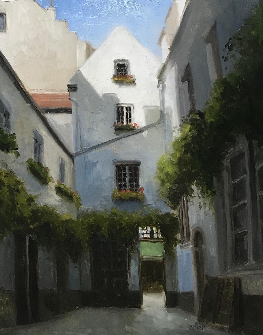 Antwerp Courtyard