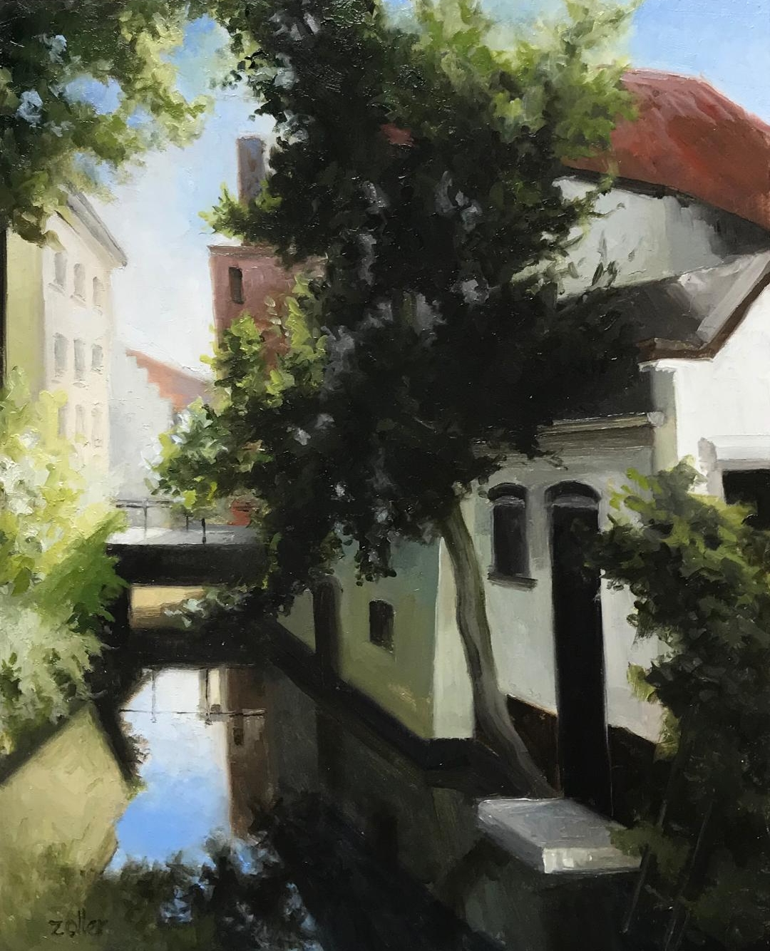 Canal in Gouda