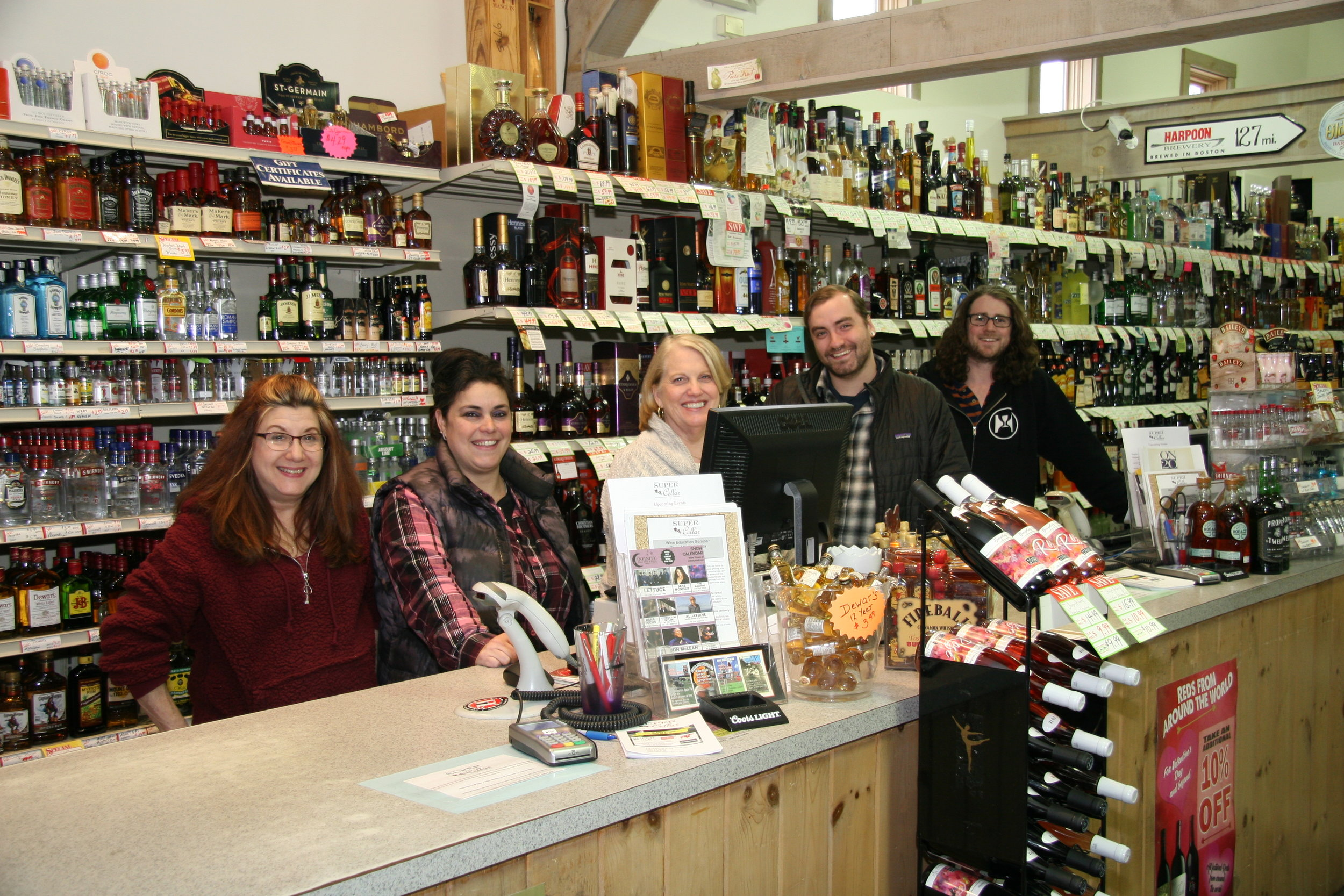 (Pictured: Our world-class team of beverage enthusiasts!
