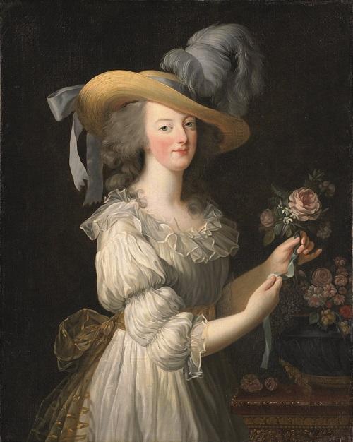 Marie Antoinette in a Muslin Dress, 1783