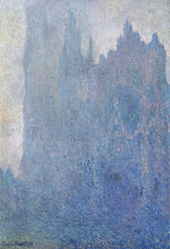 'Rouen Cathedral in the Fog' 1894