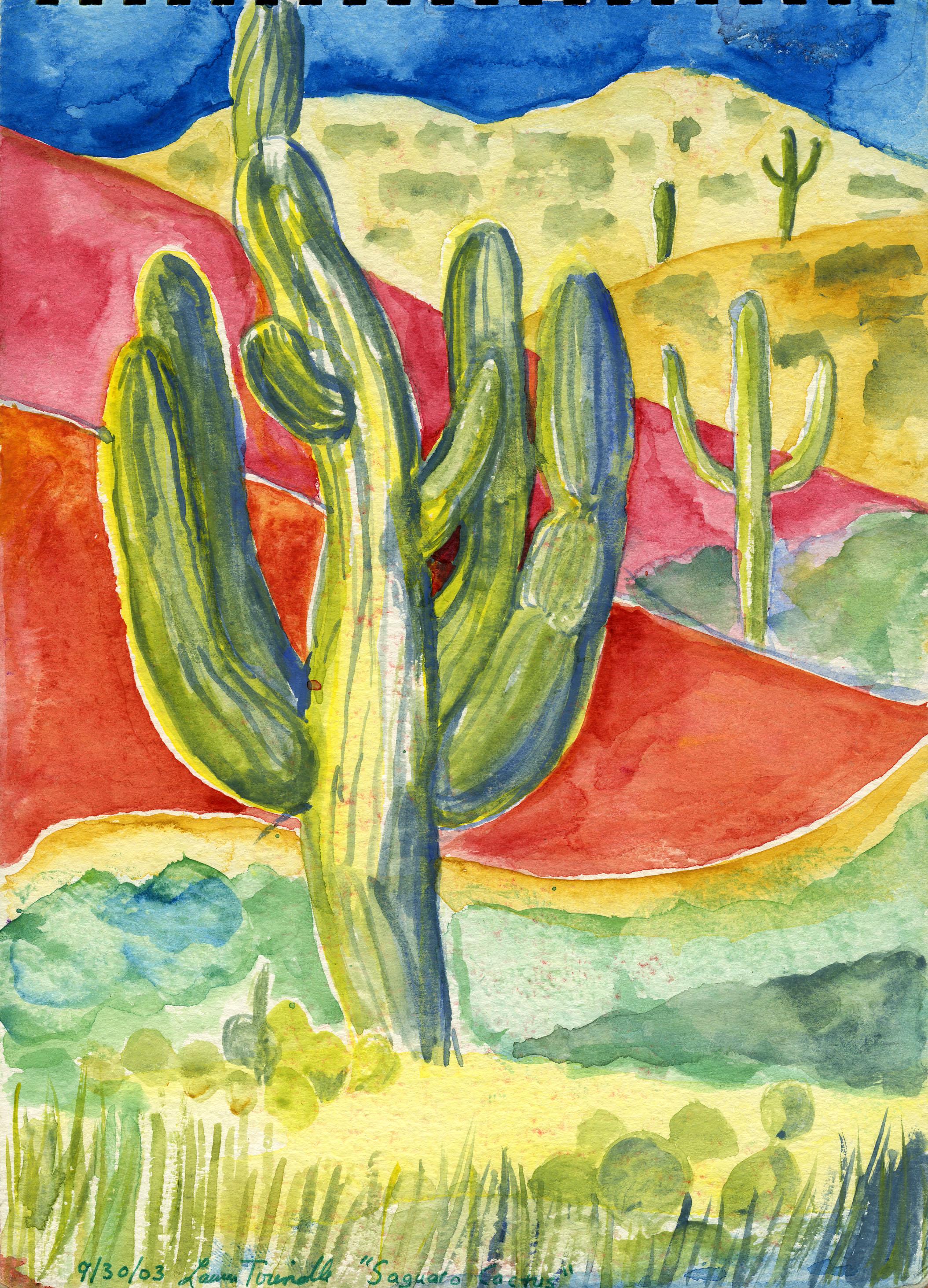 "Sept. 30, 2003, ""Saguaro Cactus"""
