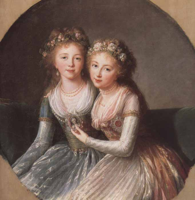 Alexandra and Elena Pavlovna, Catherine the Great's Granddaughters