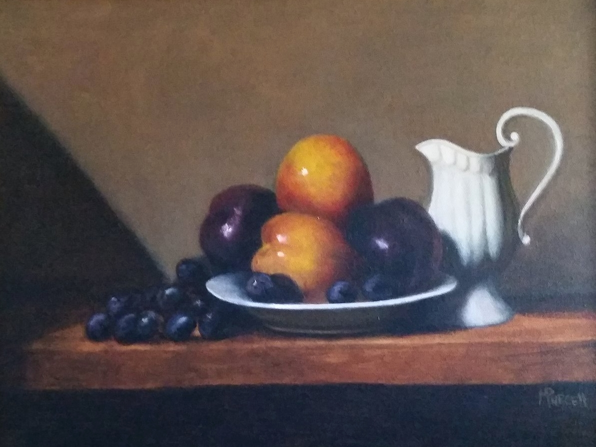 """""""Still Life With Pitcher"""" 12x16"""" $375"""