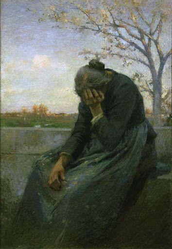 """Giuseppe Mentessi, """"Despairing Woman"""""""