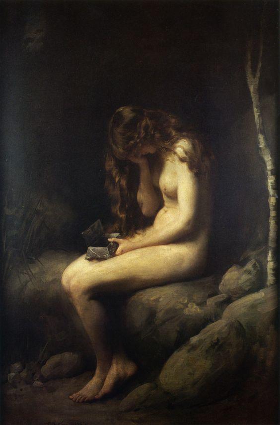 """Thomas Benjamin Kennington, """"Pandora"""""""