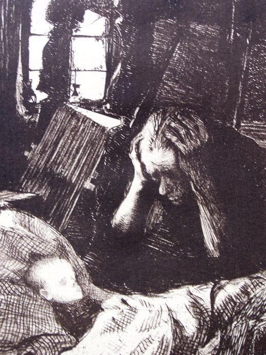 Kathe Kollwitz, sketch