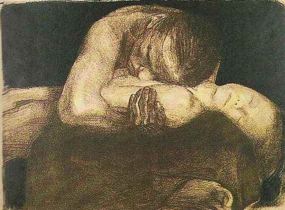 Kathe Kollwitzm, sketch