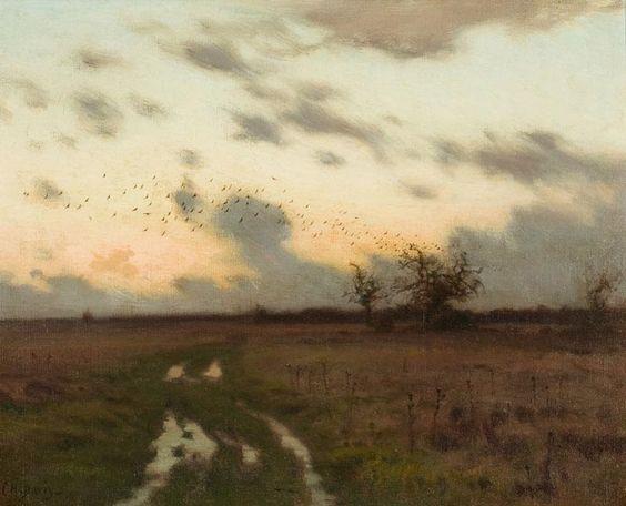 landscape by  Charles Harold Davis