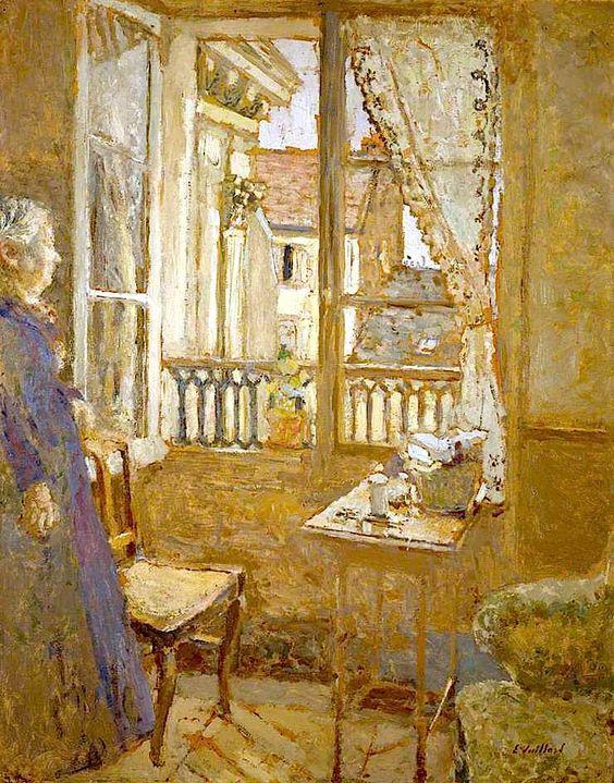 """""""The Open Window""""by Jean Edouard Vuillard"""