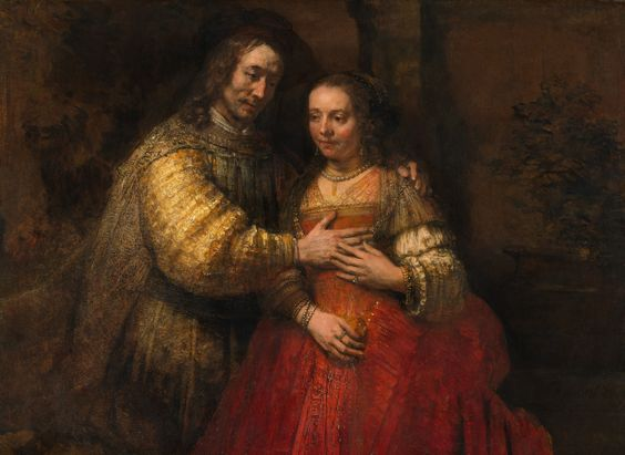 """"""" The Jewish Bride """" by Rembrant"""