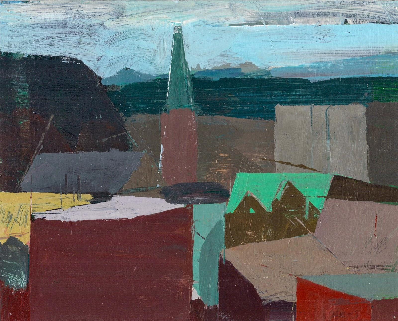 """""""Easton from Balcony"""" by Ken Kewley"""