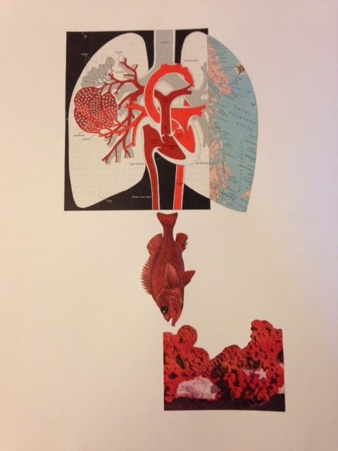 """""""These Are Things We Made Together"""" Collage by Rachel Engh"""