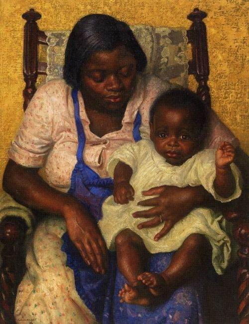 """""""Madonna of the Cotton Fields,"""" painting by Dame Laura Knight"""