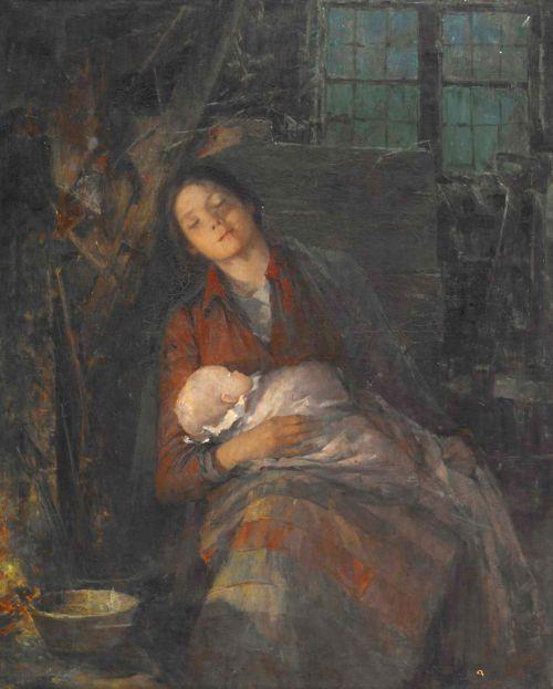 """Rest,"" painting by Anna Nordgren"