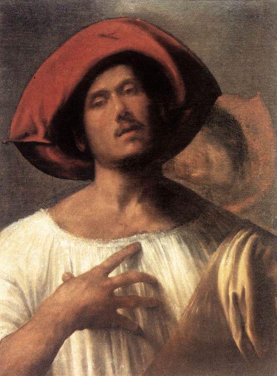 """The Impassioned Singer"" by  Giorgione ,Oil on canvas, 102 x 78 cm Galleria Borghese, Rome 1510"