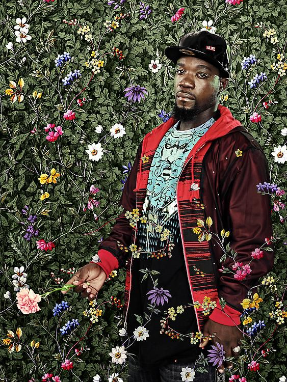 """"""" Miss Susanna Gale ,"""" painting by  Kehinde Wiley"""