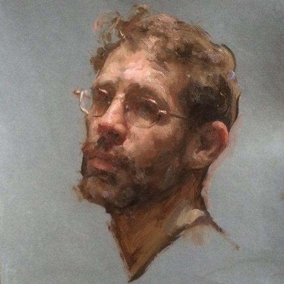 Self portrait by  Travis Schlaht