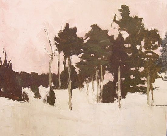 """""""Crowscall"""" painting by  Stephen Dinsmore"""