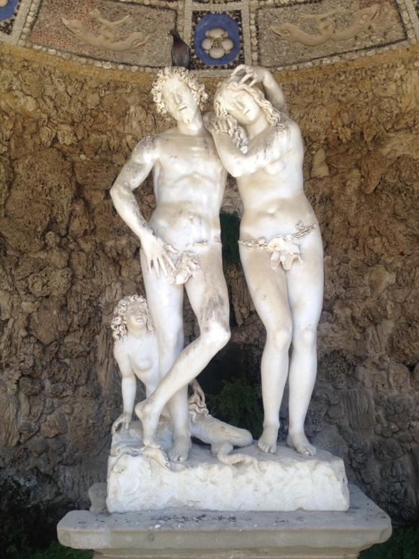 Can I Rest My Head on Your Shoulder... in the Boboli Gardens?