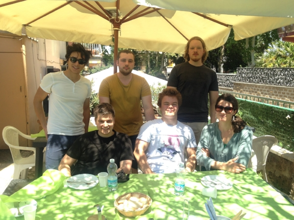 A memorable lunch with Maurizio, a local, and his friends who were visiting from Norway! Fantastic food!