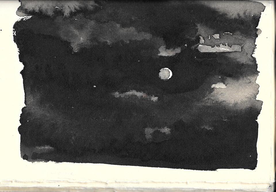 ink wash by JD Wissler (sketchbook)