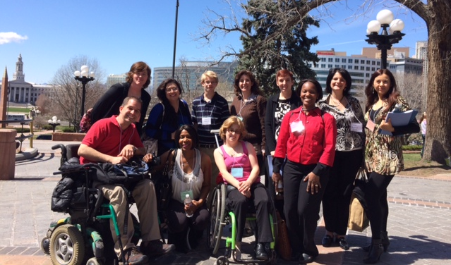 LEAD Participants at the  ColoradoState Capitol                                                 April 2014
