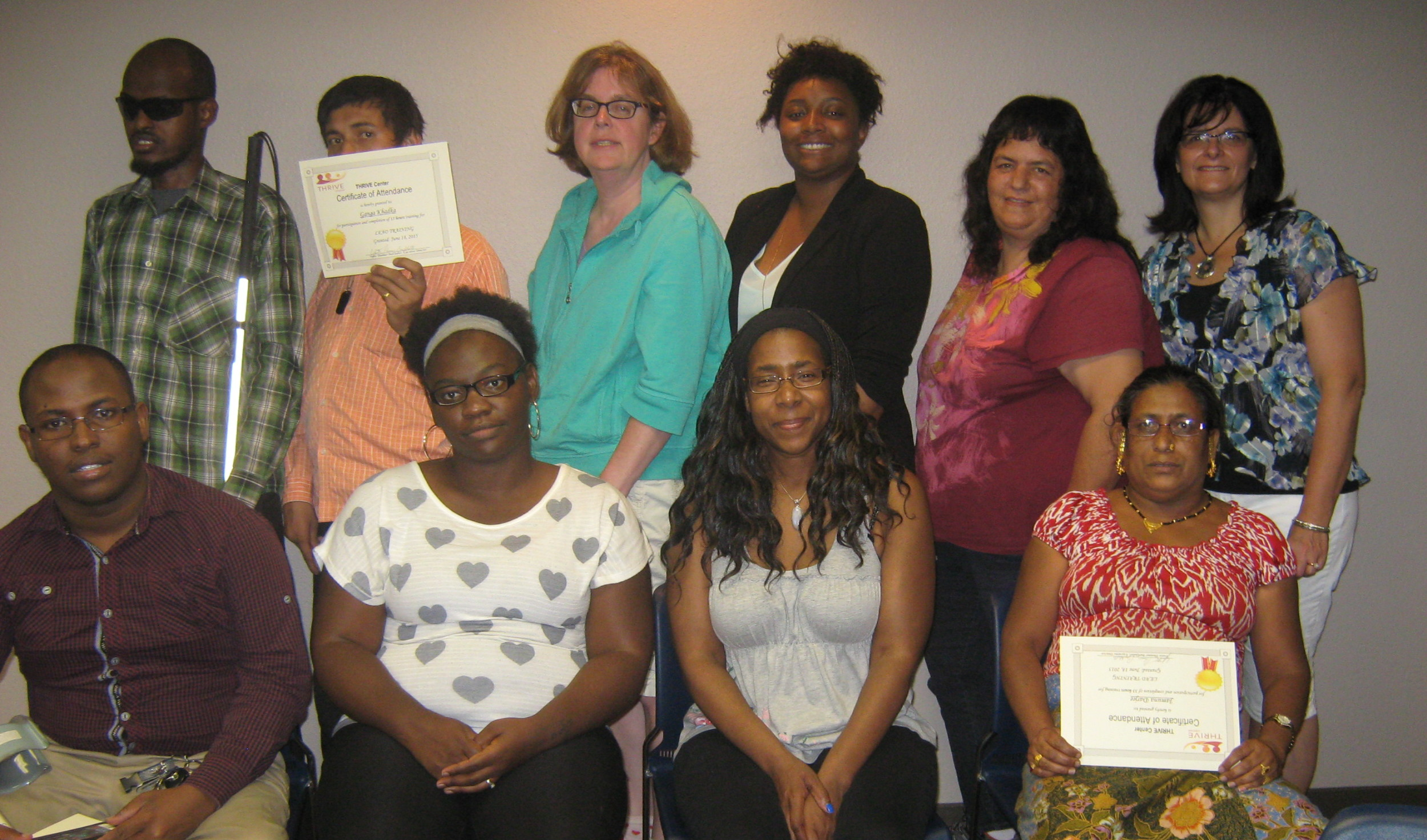 LEAD 4 Participants and THRIVE Staff                                                  June 2015