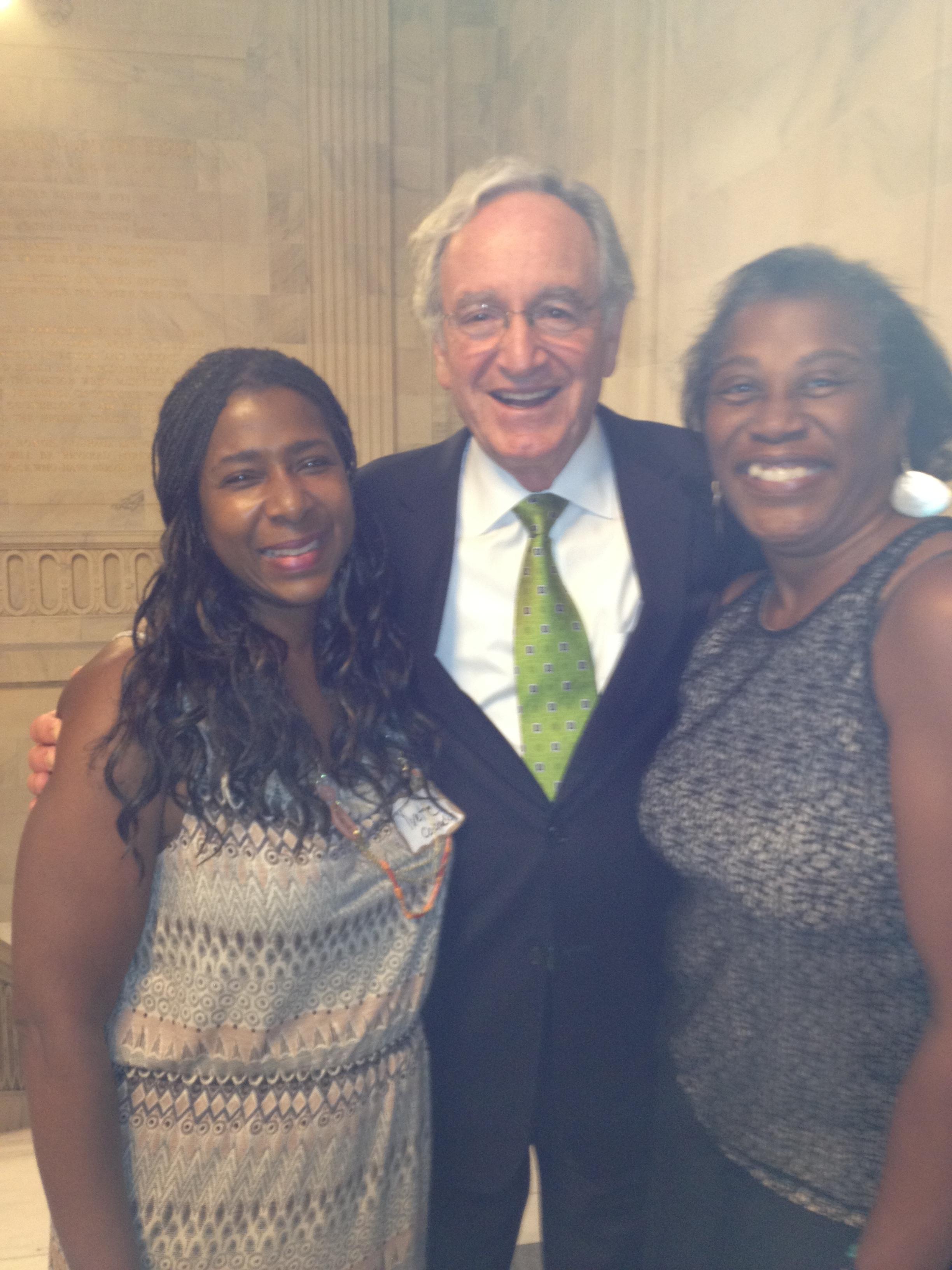 Yvette senator harkin and dee Spinkster.JPG