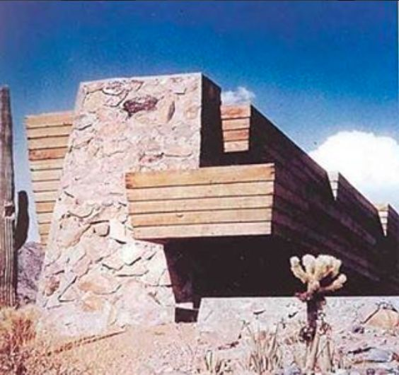 The Rose Pauson House by Frank Lloyd Wright | Phoenix, Arizona.